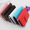 Hot Magnetic Leather Case For nokia lumia 108 Wallet Case PU leather case with Card Holder Stand Skin