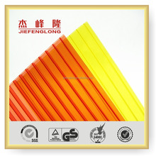 Construction Material Plastic Lexan UV Coat Polycarbonate Sheet Glass Price