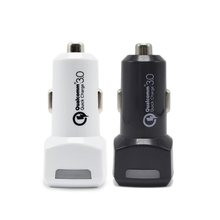 Wholssale High Speed DC 5V 1.5A Car Charger QC 3.0 Dual Port Car Charger