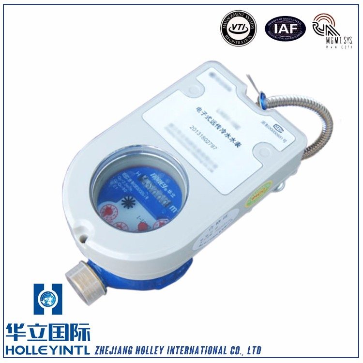 Easy network flow water meter