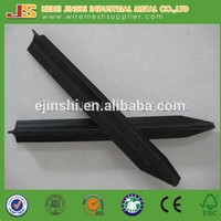 Hot sale low carbon steel Black Bitumen star picket