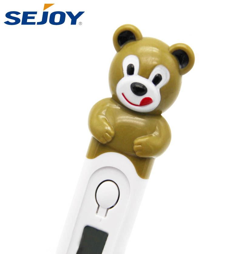 Character Type Waterproof Baby Digital Thermometer