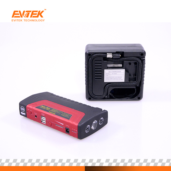 Factory Supply Car Jump Starter Kit Booster 69800mAh Emergency Restarter Mobile Car Power Bank with Air Pump