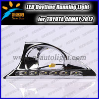 Newest car accessories led daytime running light for Camry 2013 with long lifespan and one year quality warranty