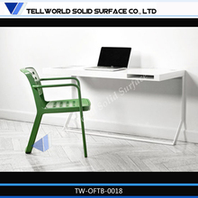 2014 TW High quality modern artificial stone office table metal legs