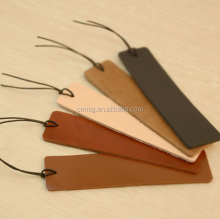 superior quality easy take stylish leather bookmark as gifts