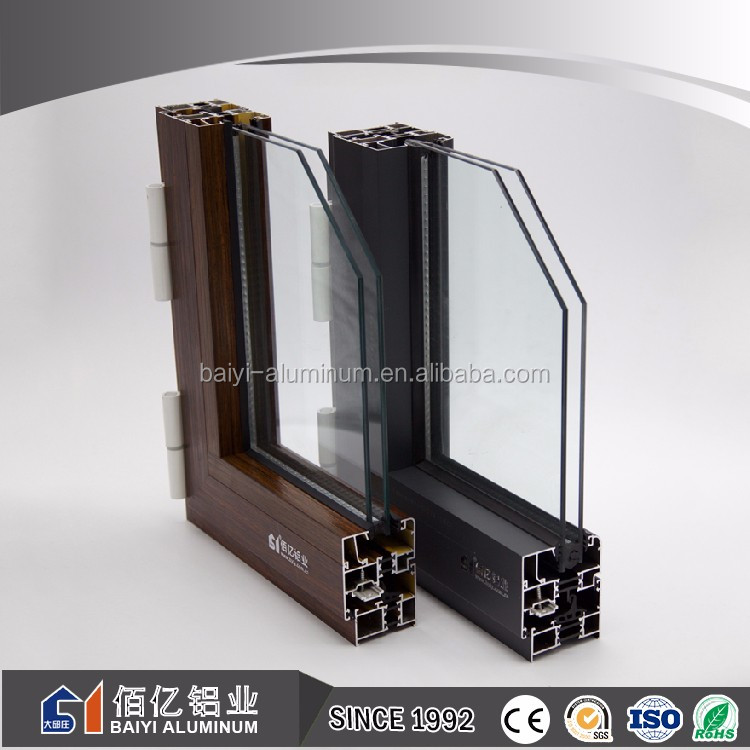 China factory price 6000 series alloy aluminum frame sliding window