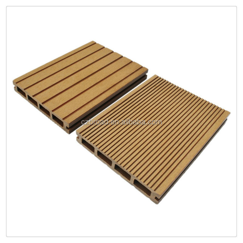 environmental friendly plastic wood outdoor decking/composite decking