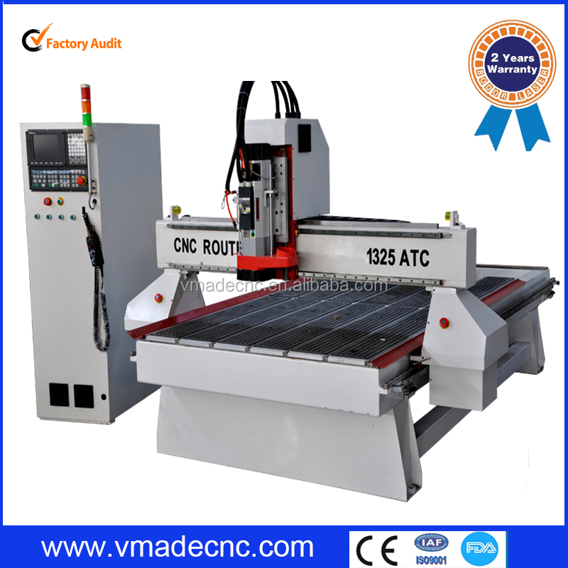 direct manufacturer Syntec control 8 tools automatic tool changer cnc wood machine atc manual woodworking cnc router machine
