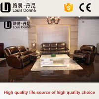 Reasonable price hot selling germany leather sofa