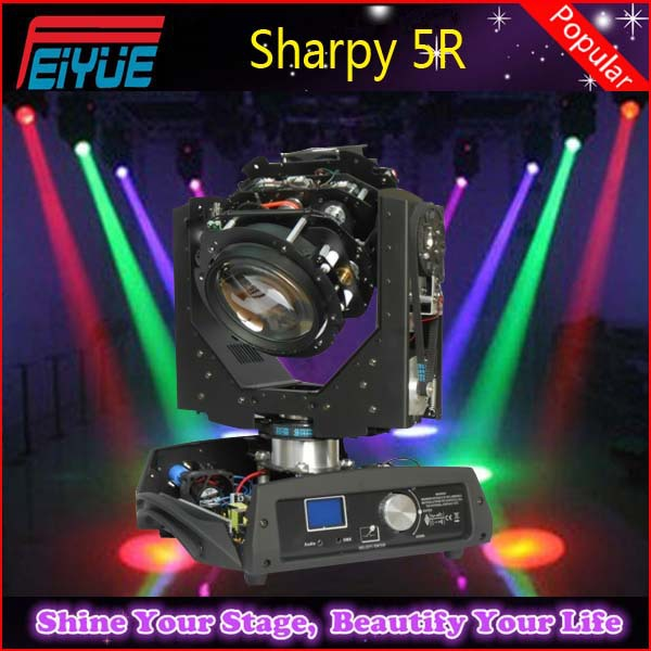 stage lighting moving head 5r sharpy beam 200w professional light