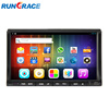 Universal dvd car audio navigation system car gps navigation with wireless rearview camera