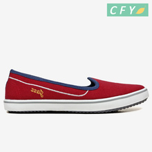 2017 red color New Style new arrival Women Casual Shoes slip on hot sale good quality