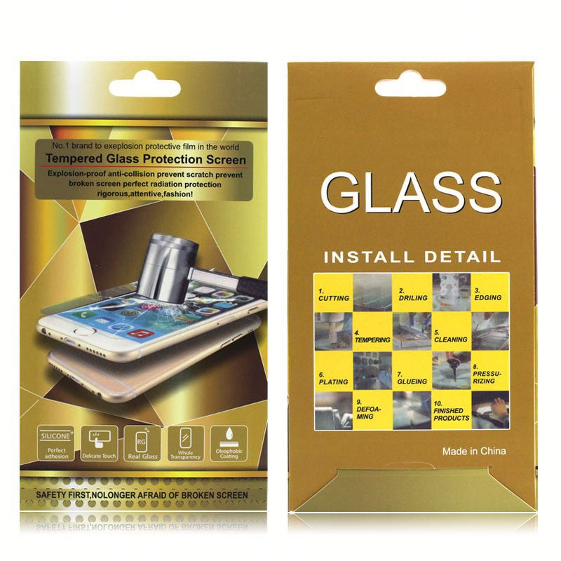 Anti-glare mirror tempered glass screen protector for Huawei Mate 2 protective film