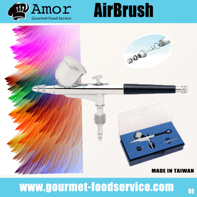 Face and body art paint airbrush system