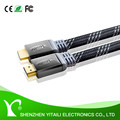 High Quality 1.4V Gold Plated Flat Shape HDMI Cable With Ethernet Supports 3D 1080P 2Kx4K - for HDTV LCD LED XBOX PS3 BLURAY