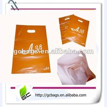 boutique full printing die cut shopping bag