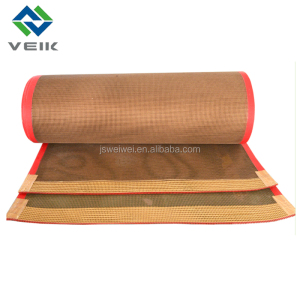 4mm*4mm PTFE coated fiberglass open mesh conveyor belt
