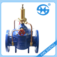4inch flange Connection control water valve with timer made in china