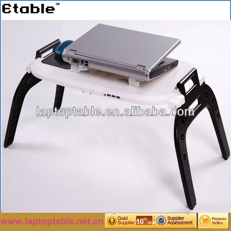 BSCI ABS adjustable multi-function notebook table on bed