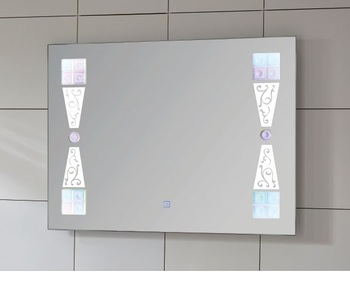 Best Selling Smart & Convenient Rectangle Shape Bathroom LED Illuminated Mirror