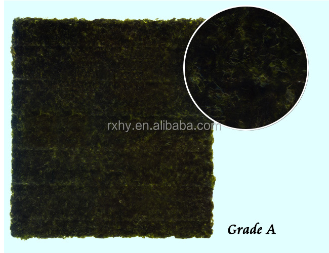 Chinese supplier sushi nori gold roasted seaweed for sale