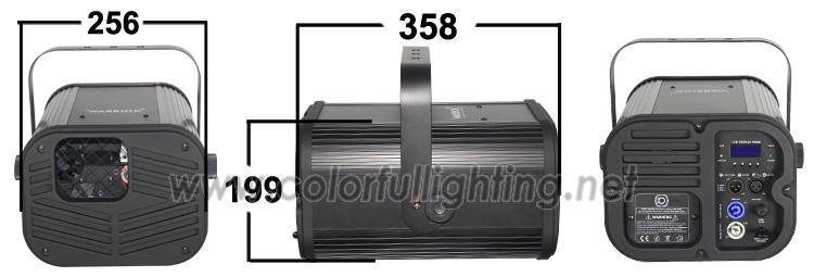 Warrior effects dj lights beam spot elation sniper 2r stage lighting