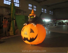 Newest inflatable halloween decoration /advertising customized inflatable pumpkin