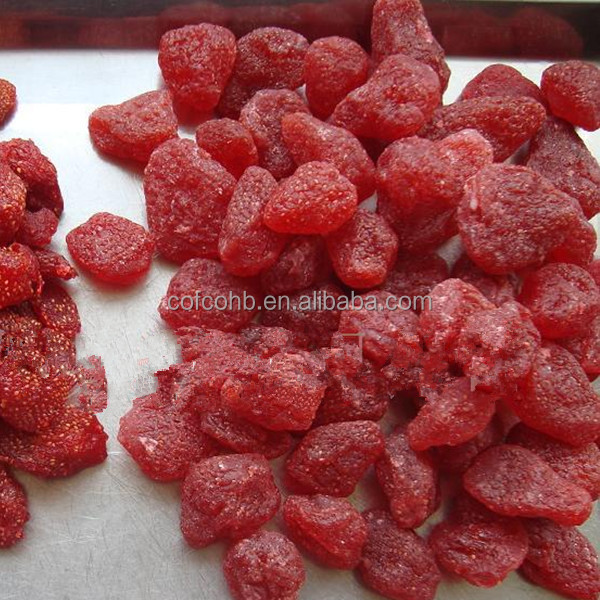 dried preserved strawberry,fruta snack