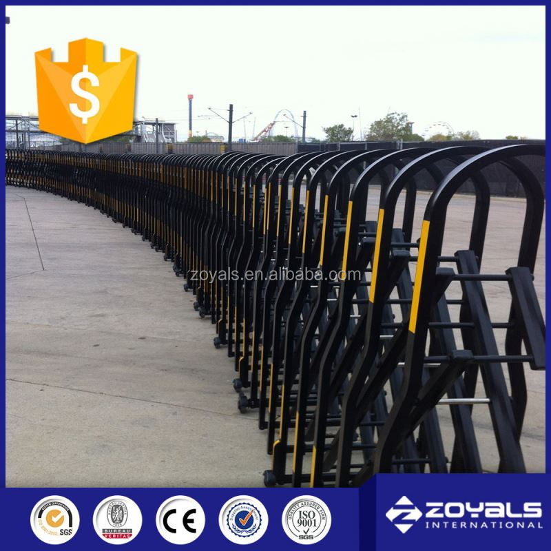 Steel Expandable Portable Road Safety Barrier