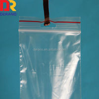 ziplock/plastic bag with hang hole,pouch hole