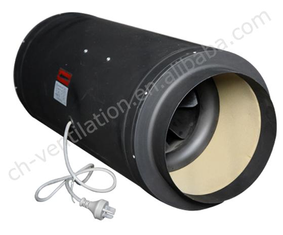 Inline Fan Structure : Mm inline fan carbon filter kit hydroponic kits fans