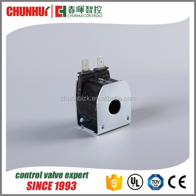 Low price 4-way reversing valve air conditioner solenoid coil 12v dc