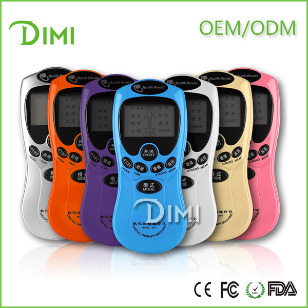 Dimerk Best effective portable mini tens therapy electronic pulse massage for arthritis