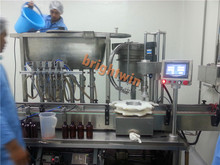 factory sale automatic teel oil/sesame oil filling capping machine