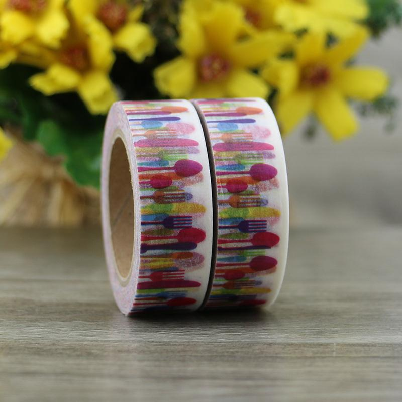 children washi tapes with shrink wrap package