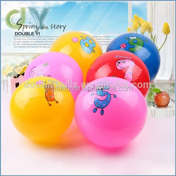 2015 New product Inflatable pvc beach ball / promotion beach ball
