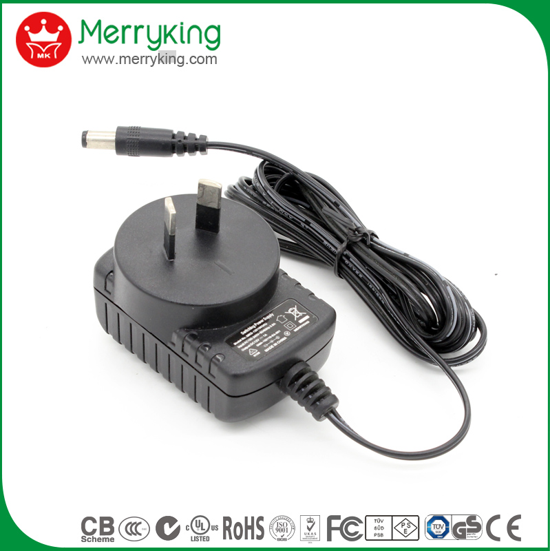 australian standard saa approval ac dc adapter 12v 700ma 500ma 1a power supply charger