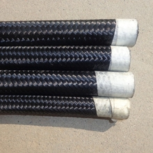 6AN nylon/stainless steel braided fuel/oil line oil hose