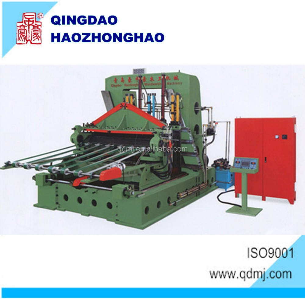 BG1826 Wood Drying One Layer Mesh Type veneer dryer machine