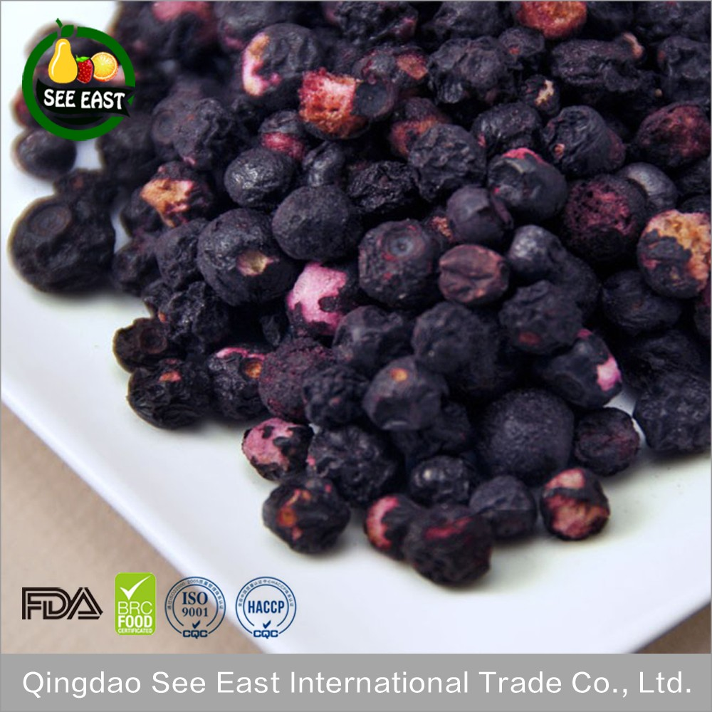 New Products Healthy Food FD Freeze Dried Blueberries Blueberries