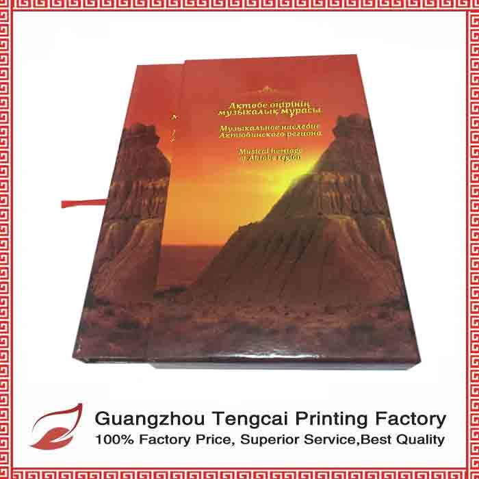 High quality customized CD book for CD packaging