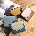 2019 new leisure weave design short wallets for woman
