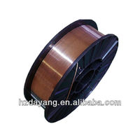 copper coated steel wire ER70S-6 made in China with low price good quality