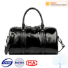 New desgin women genuine leather travel bag with different color