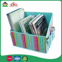 Custome Color Storage Box Magazine Organizer