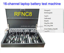 16channels Battery Analyzer/Laptop Battery Tester/Charger/Discharger Charge Current 2A/2.5A(Max)