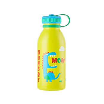 Hot sale 450ml double wall stainless steel water bottle for kids with handle