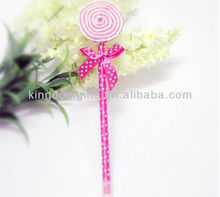 Candy Color Lollipop plastic ballpoint pen