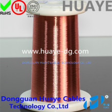 Self-bonding solderable enamel copper magnet wire ,AWG 39,#,0.09mm,155C